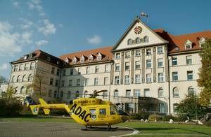 الاستاذ - كريستيان راينر فيرتز - مستشفى الجامعة في أولم - المنظر الخارجي