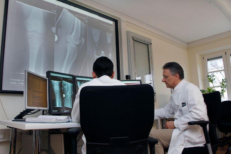 Prof. - Rüdiger von Eisenhart-Rothe - Klinikum rechts der Isar of the Technische Universitaet Muenchen - consultation