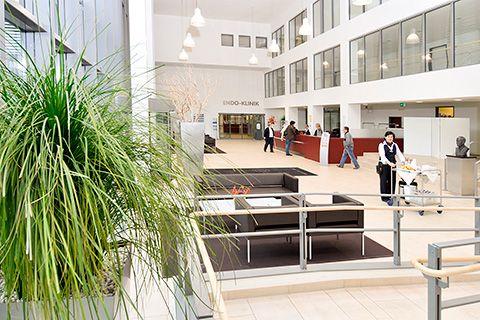 Prof. - Thorsten Gehrke - Helios ENDO-Clinic Hamburg - interior view