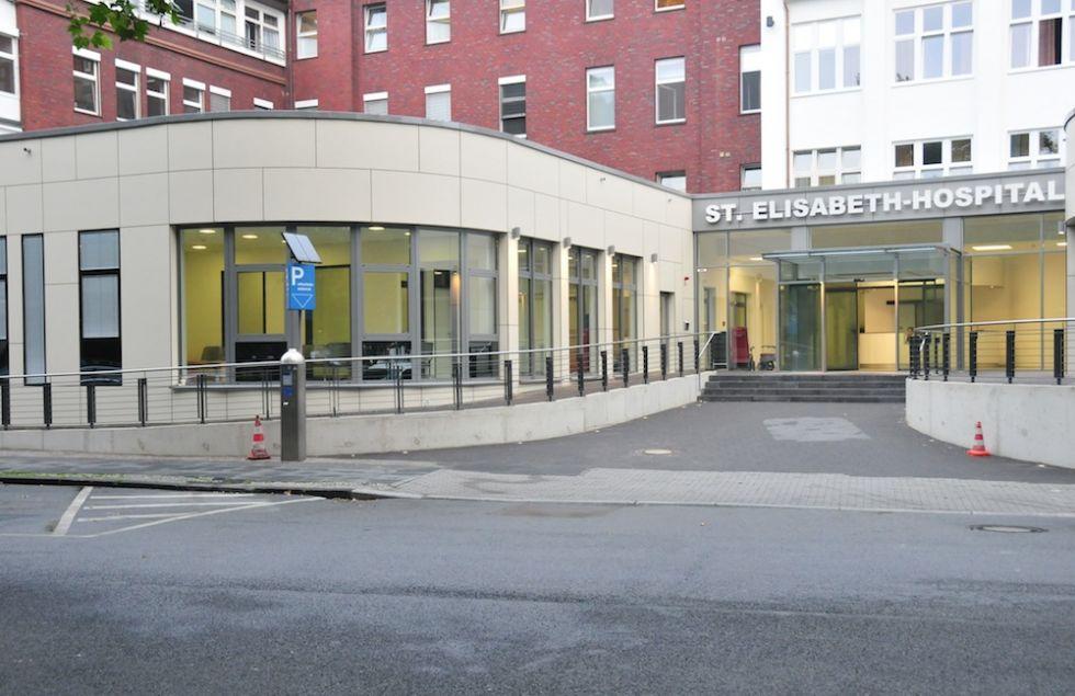 البروفيسور - شتيفان داتسرت - مستشفى سانت يوسف وسانت اليزابيت، مستشفيات جامعة الرور في بوخوم - المنظر الخارجي