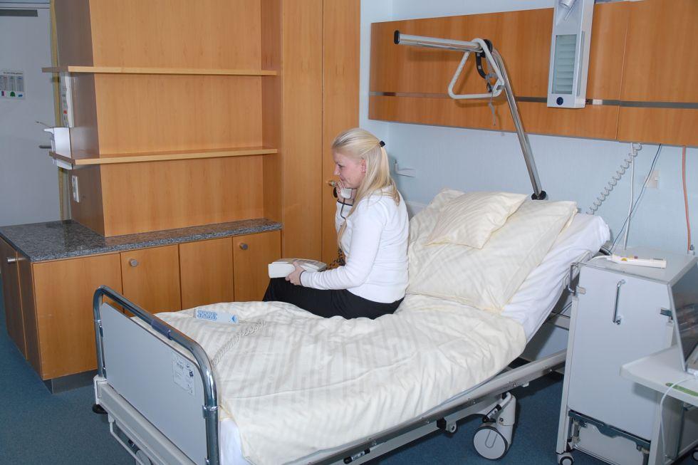 البروفيسور - أولريش شتوكله - مستشفى BG ـ مستشفى الحوادث التابع للضمان الصحي المهني ـ توبينغن - غرفة طالب العلاج