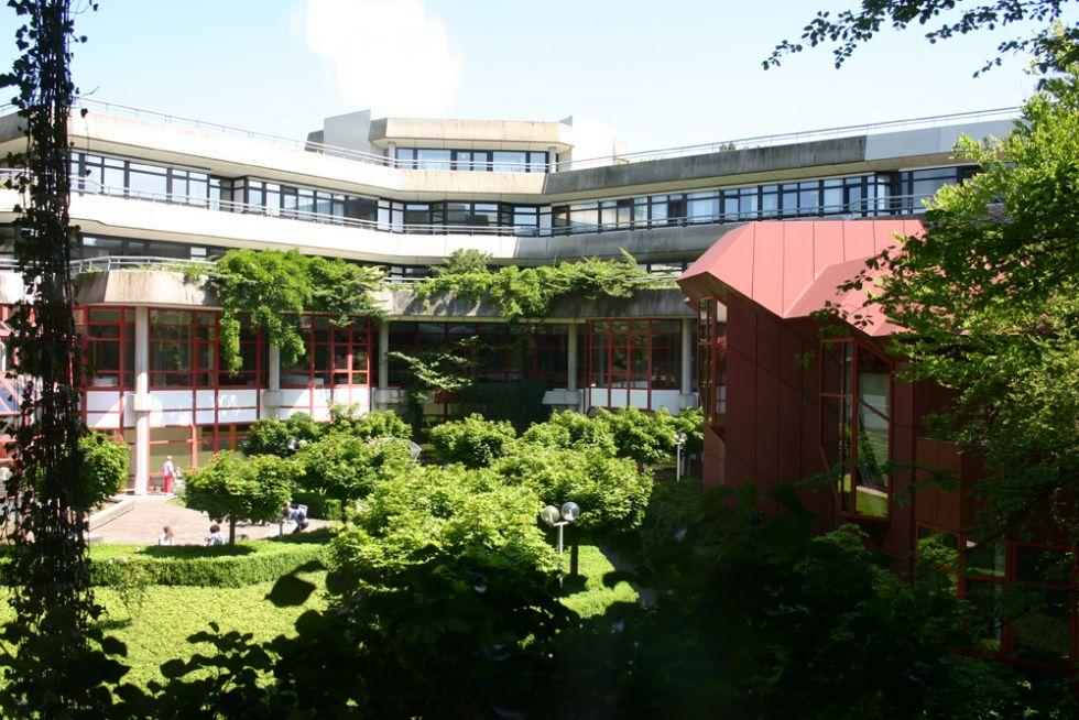 البروفيسور - هارتموت دونر - مستشفيات جامعة أولم - المنظر الخارجي