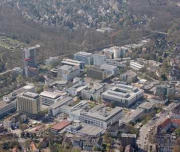 Prof. - Herbert Rübben - Essen University Hospital - hospital campus