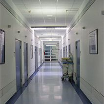 Prof. - Herbert Rübben - Essen University Hospital - interior view