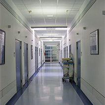 الأستاذ - هوبيرت روبين - مستشفى الجامعة في مدينة ايسين - المنظر الداخلي