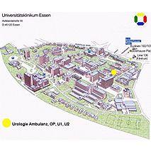 Prof. - Herbert Rübben - Essen University Hospital - clinic location