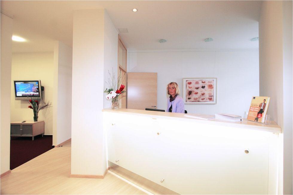 Prof. - Christoph M. Bamberger - Medical Prevention Center Hamburg (MPCH), MVZ Conradia GmbH - reception area