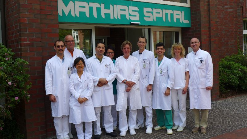 دكتور - غيرد رودولف لولاي - المركز الصحي راينه: مستشفى ماتياس - فريق