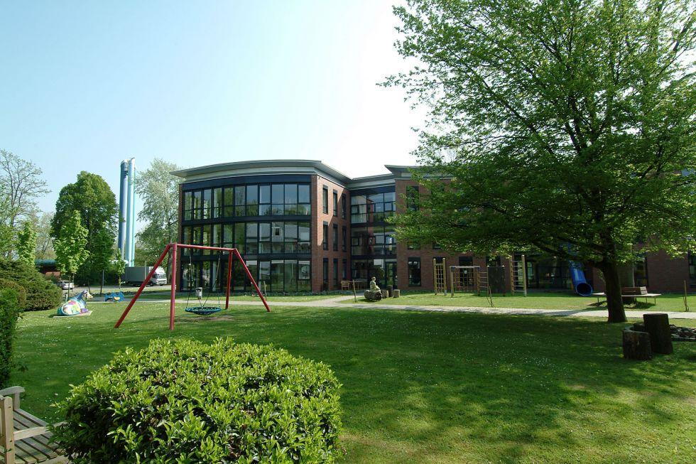 Prof. - Eckard H. Hamelmann - Protestant Hospital Bielefeld - exterior view