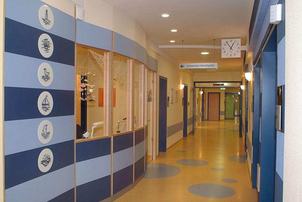 Prof. - Eckard H. Hamelmann - Protestant Hospital Bielefeld - reception area