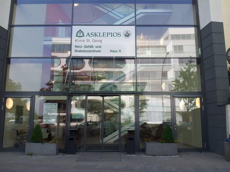 Prof. - Karl-Heinz Kuck - Asklepios Hospitals Hamburg LLC – Asklepios Hospital St. Georg - exterior view