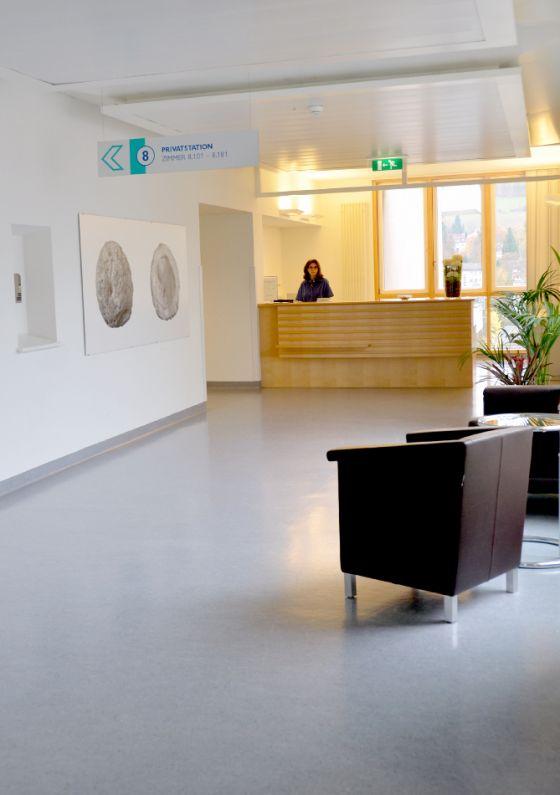 Prof. - Thomas Gasser - Kantonsspital Liestal - reception area