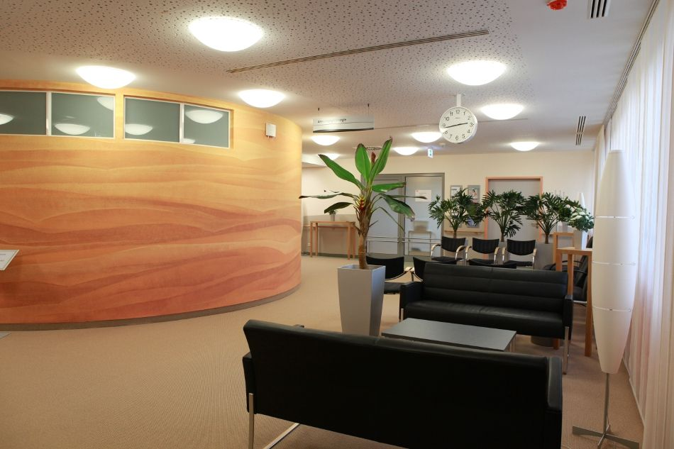 Prof. - Karl-Dieter Heller - Herzogin Elisabeth Hospital - waiting room