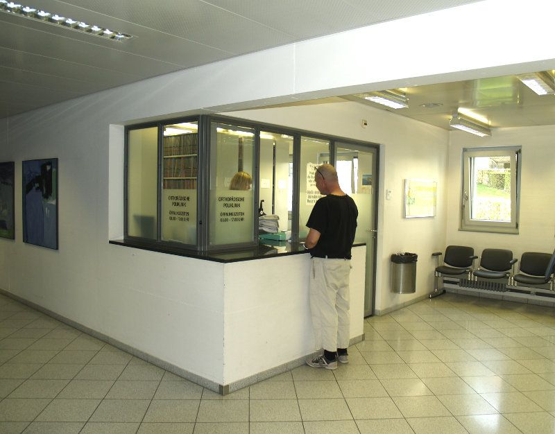 Prof. - Klaus A. Siebenrock - Insel Hospital, University Hospital Bern - reception area