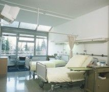 Prof. - Eduard W. Becht - North-west Academic Teaching Hospital of Johann Wolfgang Goethe University - patient room