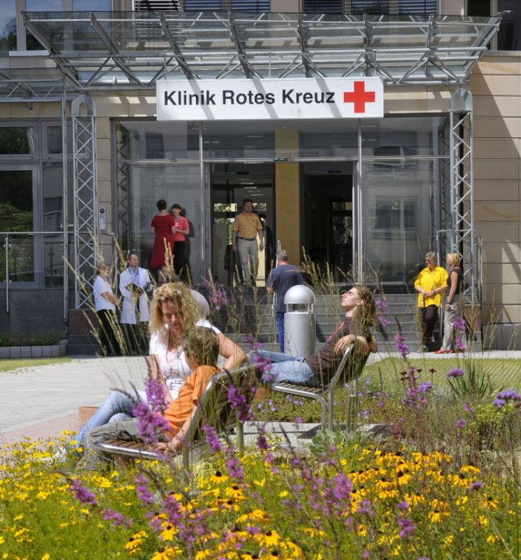 MD, - Juergen Haase - Red Cross Hospital Cardiology Center Frankfurt - entrance