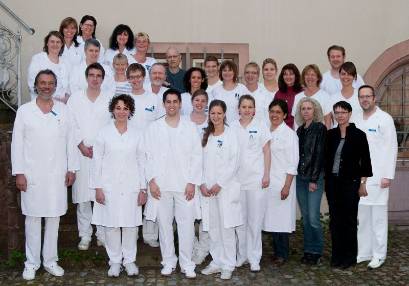 Prof. - J. Thomas Lambrecht - University Hospital of Dental Medicine - team
