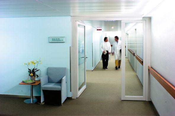 Prof. - Paul Robert  Vogt - Hirslanden – Clinic in the Park - interior view