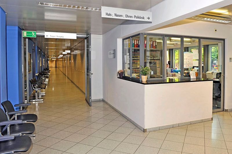 Prof. - Marco Domenico Caversaccio - Insel Hospital Bern - reception area