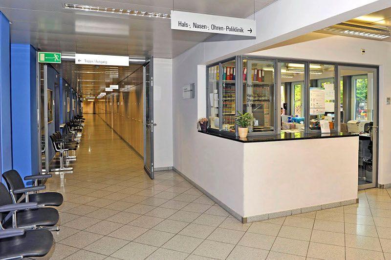 Prof. - Marco Domenico Caversaccio - Insel Hospital Bern - reception area