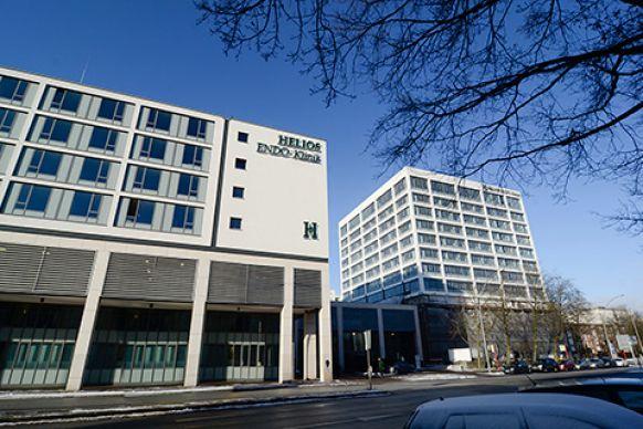 الأستاذ -  رالف  هيمبلمان - مستشفى هيليوس إندو هامبورغ ش.م.م - المنظر الخارجي