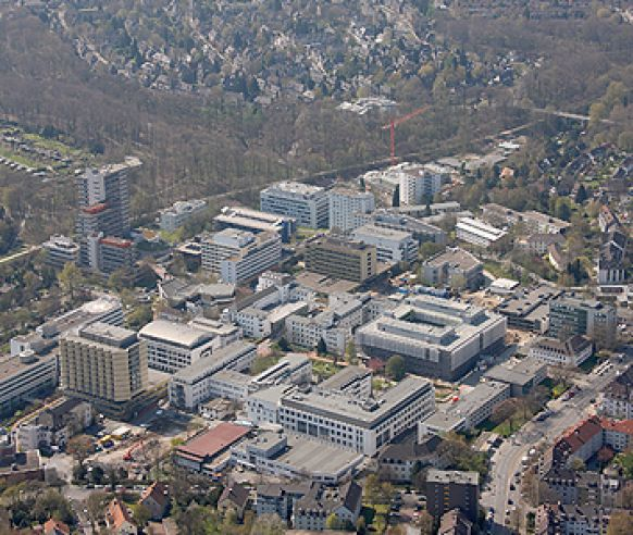 Prof. - Herbert Rübben - Essen University Hospital - hospital campus