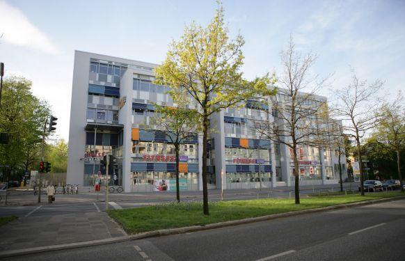 الاستاذ - كريستوف م. بامبيرغر - مستشفى الجامعة  في هامبورغ ـ ايبيندورف - المنظر الخارجي