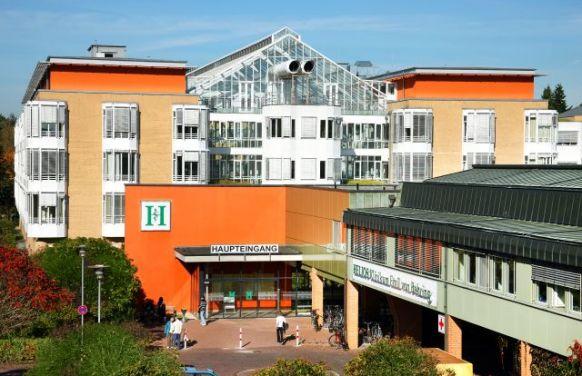 Prof. - Joachim Pfannschmidt MD - HELIOS Klinikum Emil von Behring GmbH - exterior view