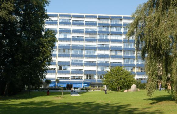 بروفيسور - ف.  رابه - مستشفى جروسهانزدورف - المنظر الخارجي