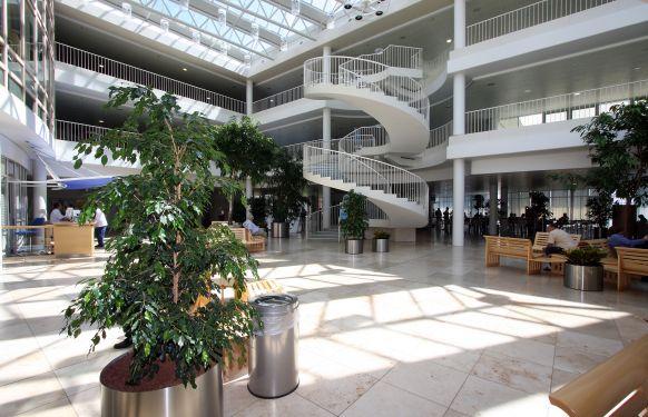 المدرس - بيوتر كاسبرزاك - مستشفى جامعة ريغينسبورغ - المنظر الداخلي