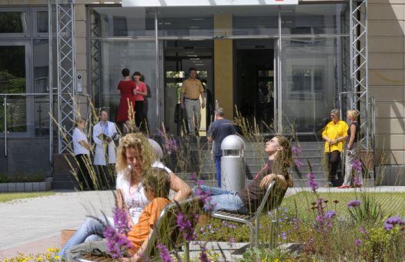 بروفيسور - يورغن هازه - مركز فرانكفورت لطب القلب بمستشفى الصليب الأحمر - مدخل