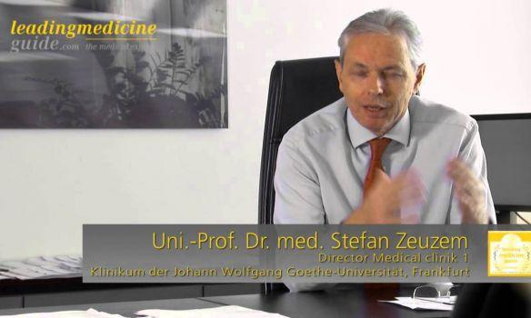 Univ.-Prof. Dr. med. Stefan Zeuzem - Frankfurt - Gastroenterology