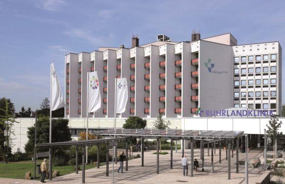البروفيسور - لوتس فرايتاج - مستشفى رورلاند