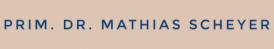 Senior Consultant Dr Mathias Scheyer Private Surgery - Visceral Surgery - Feldkirch