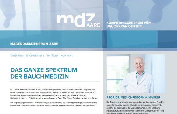 Professor - Christoph A. Maurer, MD, FACS, FRCS, FEBS - Gastrointestinal Center Aare